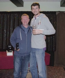 The Pool Hub Doubles Knockout Runners-Up - Andy Whittle-Darrock & Alan Heath