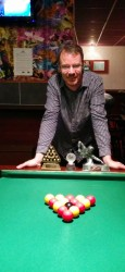 Margate Wednesday Finals Night Oct 2014 - League Champion, Doubles Champion & Singles Champion - Van King 1