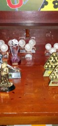 Margate Wednesday Finals Night Oct 2014 - Trophies