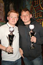 The Pool Hub Thursday Finals Night Doubles Knockout Champions - Shane Purdey & Sean Kirby