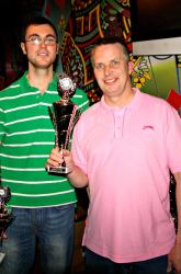 The Pool Hub Thursday Finals Night Doubles Knockout Runners Up - Dan Jackson & Russell