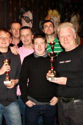 The Pool Hub Thursday Finals Night League Runners Up - The Mulbery Tree B
