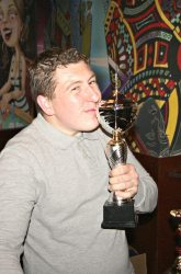 The Pool Hub Thursday Finals Night Singles Knockout Champion - Lee Solly 1