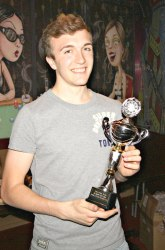 The Pool Hub Thursday Finals Night Singles Knockout Runner Up - Lukas Nutley