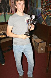 The Pool Hub Thursday Finals Night Singles Knockout Runner Up - Lukas Nutley 2