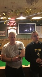 Margate Thursday Pool Singles & Doubles Winners & Runners Up - Lukas Nutley, Frank Leppard, Jon Butcher & James Bax