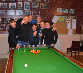 Margate Wednesday Finals Night May 2015 League Champions Lord Byron B
