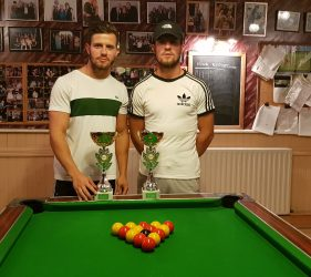 Doubles Runner Ups - Rodney Trotters